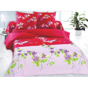 Полуторный комплект постельного белья Амадин