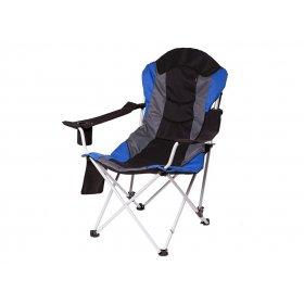 Кресло Директор сине-черное Time Eco