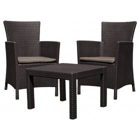 Комплект мебели Rosario balcony set коричневый