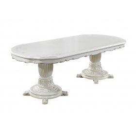 Обеденный стол P-96 белый 200/250х110х80 см