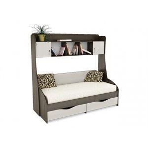 Комплект кровать с надстройкой Д-9