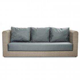 Диван трехместный Kombo 225х80х80 без мягкого сидения и подушек