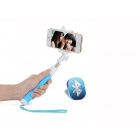 Селфі-монопод з вбудованим Bluetooth UFT SS22 Light Blue