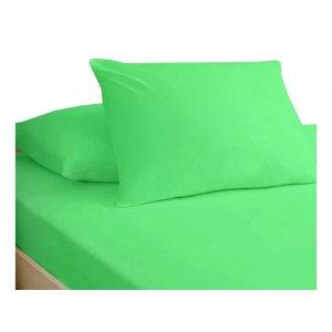 Простынь натяжная Jersey Green 90x200
