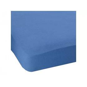Простынь натяжная Jersey havlu Blue 80x190