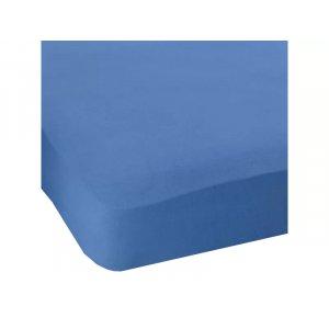 Простынь натяжная Jersey havlu Blue 180x200