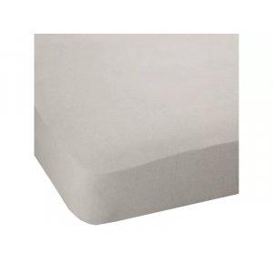 Простынь натяжная Jersey havlu Grey 90x190