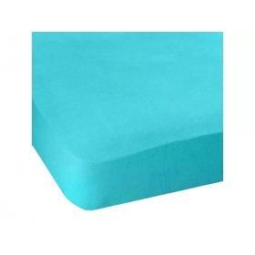 Простынь натяжная Jersey havlu Light Blue 80x190