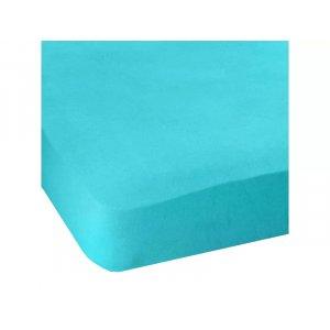 Простынь натяжная Jersey havlu Light Blue 160x200