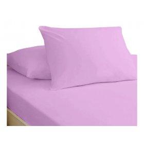 Простынь натяжная Jersey Lilac 80x190
