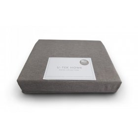 Простынь натяжная Cotton Cacao 90х190