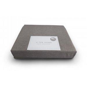 Простынь натяжная Cotton Cacao 100х200