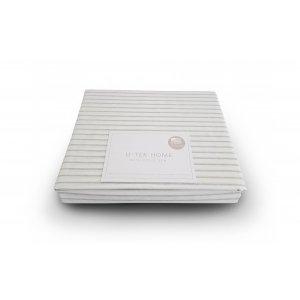 Простынь натяжная Cotton Stripe Grey 20 90х190