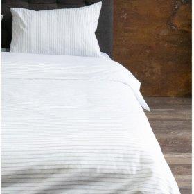Постельный комплект Hotel Collection Cotton Stripe Grey 20 полуторный евро