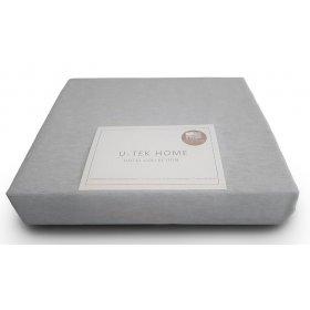 Простынь натяжная Cotton Grey 200х200
