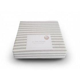 Наволочка Cotton Stripe Grey 30 40x60