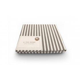 Наволочка Cotton Stripe Cacao 30 40x60