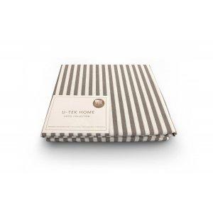 Наволочка Cotton Stripe Cacao 30 60x60