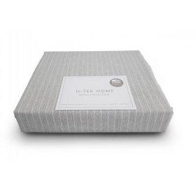 Наволочка Cotton Stripe Grey-White 40х60