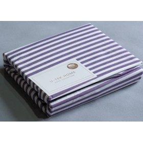 Наволочка Cotton Stripe Plum 30 40x60