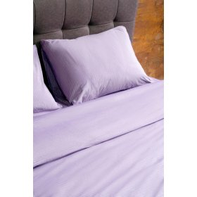 Наволочка Cotton Stripe Plum-White 40x60