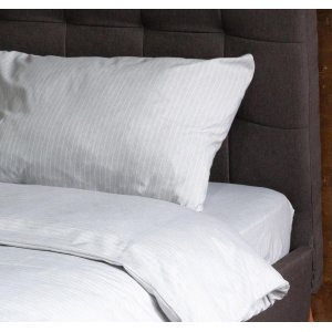 Пододеяльник Hotel Collection Cotton Stripe Grey-White 200x220