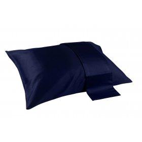 Подушка Home Sateen Dark Blue 40х60