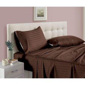 Подушка Home Sateen Brown Stripe 40х60