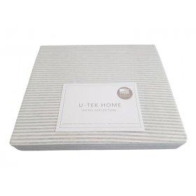Пододеяльник Hotel Collection Cotton Stripe Grey 10 220x240 серая полоска