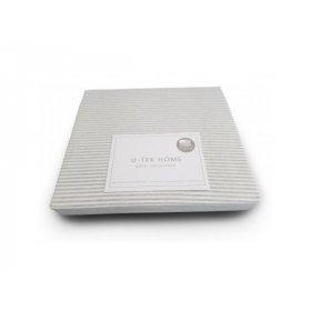 Простынь Cotton Stripe Grey 10 80x190 натяжная