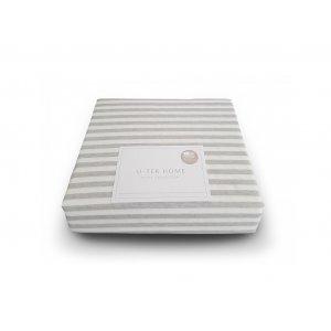 Простынь Cotton Stripe Grey 30 80x190 натяжная