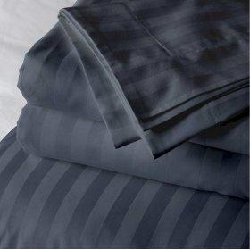 Постельный комплект Iron Grey Stripe полуторный евро