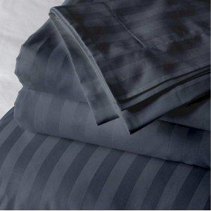 Постельный комплект Iron Grey Stripe евро макси