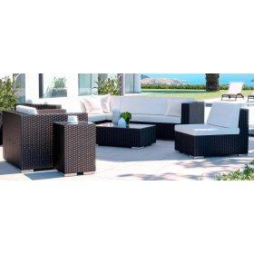 Комплект мебели из искусственного ротанга LOUNGE L