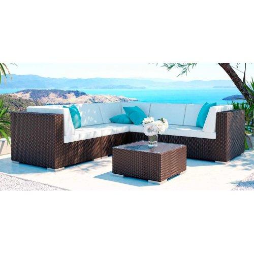 Комплект мебели из искусственного ротанга LOUNGE S