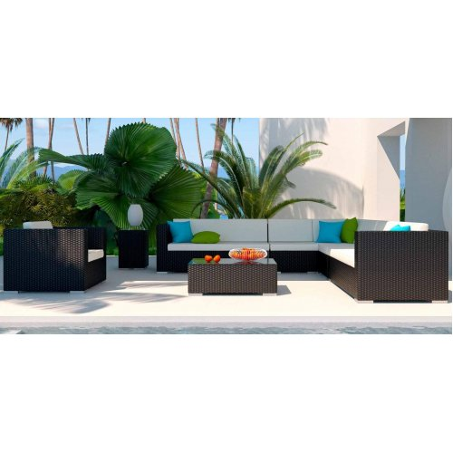 Комплект мебели из искусственного ротанга LOUNGE XL