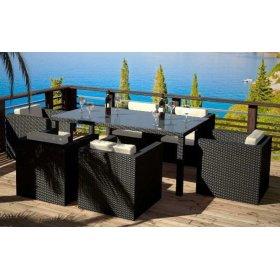 Комплект мебели из искусственного ротанга TORINO