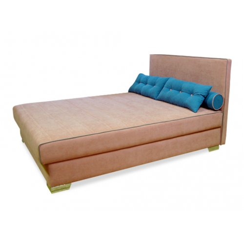 Кровать Нава 140х200 с подушками и валиками