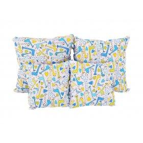 Подушка хлопок Жирафы 25х40