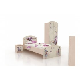 Детская кровать Бабочки 120х190