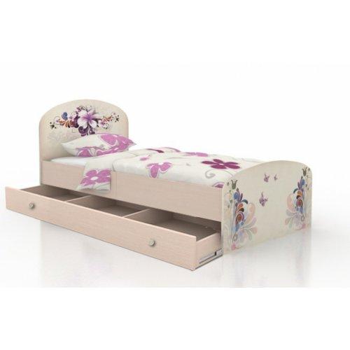 Кровать Бабочки 90х190