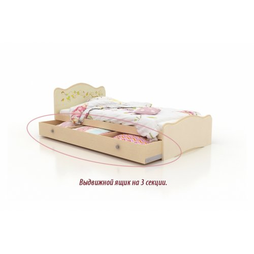 Кровать Цветы жизни 90х190