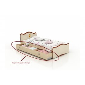 Кровать детская Феи в облаках 90х190
