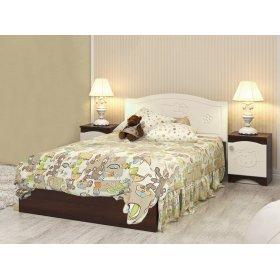 Кровать без ящиков Мишка 90x190см Kiddy