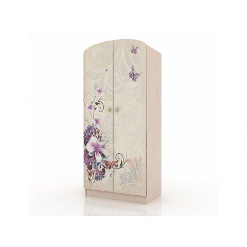 Шкаф платяной Бабочки