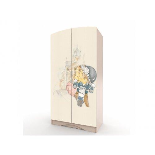Шкаф платяной М + Д