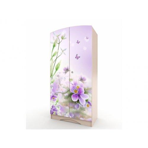 Шкаф платяной Природа