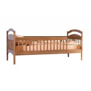 Кровать одноярусная Арина с защитными бортиками 80х190