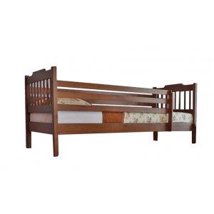 Кровать одноярусная Ева с защитными перегородками 80х190