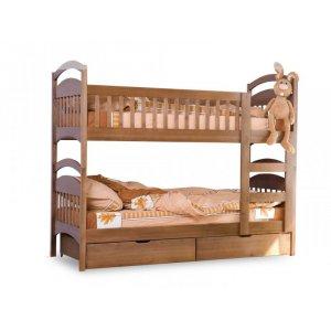 Двухъярусная кровать Арина-авангард 80х190 с ящиками